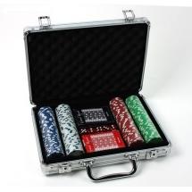 Покер, набор, металл 200 фишек, БЕЗ номинала