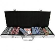 Покер, набор, 500 фиш. Техас Холдем