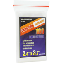 Протекторы Card-Pro 61х94, 100 шт.