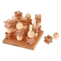 Трёхмерные крестики-нолики Thai wood