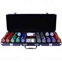 Покер, набор Casino Royale, 500 фишек