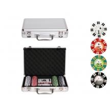 Покер, набор Royal Flush, 200 фишек