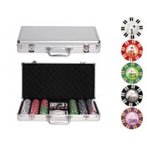 Покер, набор Royal Flush, 300 фишек