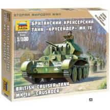 """Миниатюра Британский крейсерный танк """"Крусейдер МК IV"""""""