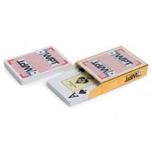 """Карты для покера """"Fournier WPT Gold"""" 100% пластик, Испания красные"""