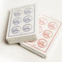 """Карты """"Fournier 2818 Casino Europe"""", 100% пластик, красная рубашка"""