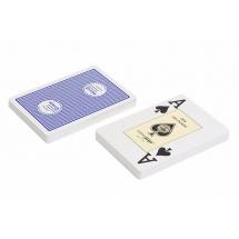 """Карты """"Fournier 2818 Casino Europe"""", 100% пластик, синяя рубашка"""