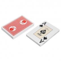 """Карты """"Fournier 2818 Casino Victoria"""", 100% пластик, красная рубашка"""