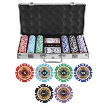 Набор для покера Crown на 300 фишек
