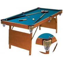 Бильярдный стол для пула Hobby 6 (в комплекте)