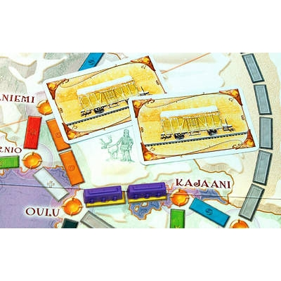 Билет на поезд. Северные страны