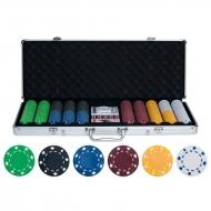 Наборы для покера на 500 фишек