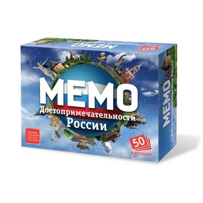"""Мемо """"Достопримечательности России"""""""