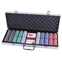 Покер, набор, металл 500 фишек