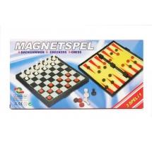 Шахматы 3в1, магнитные