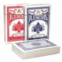 Покер, карты, Plastic coated