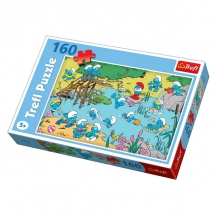 Пазл Игры на воде, 160 деталей