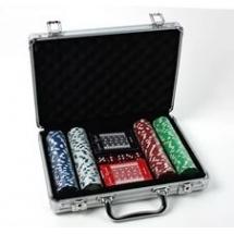 Покер, набор, металл 200 фишек