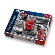 Пазл Лондон-коллаж, 1000 деталей
