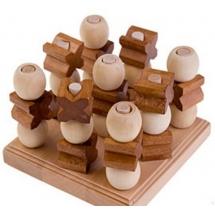 Трехмерные Крестики-Нолики, бамбук