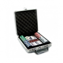 Покер, набор, металл 100 фишек