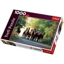 Пазл Табун лошадей, 1000 деталей