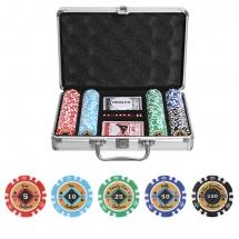 Набор для покера Crown на 200 фишек