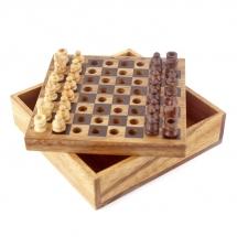 Карманные шахматы (Thai Wood)